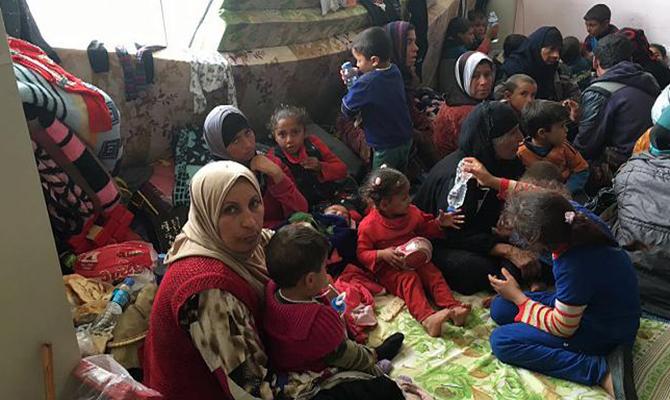 Массовое отравление влагере беженцев уМосула: двое погибших
