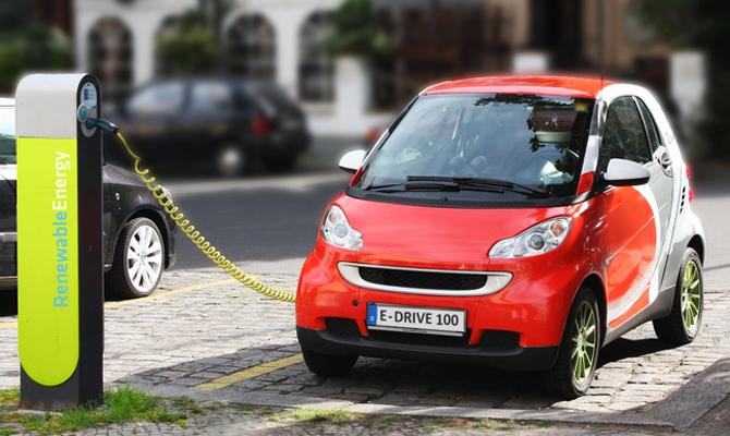 Рынок электромобилей в Украине вырос в 2,8 раза