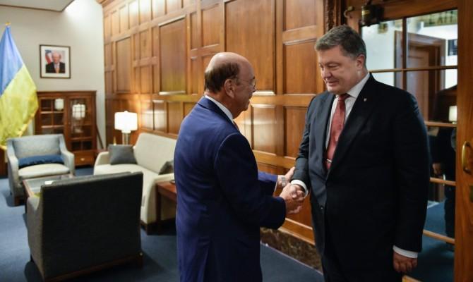 П.Порошенко вВашингтоне обсудил расширение экспорта украинской продукции вСША