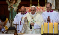 Папа Римский Франциск призвал молиться за мир в Украине
