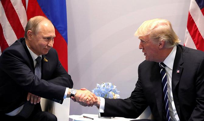Тиллерсон: Трамп пару раз подымал тему вмешательстваРФ ввыборы