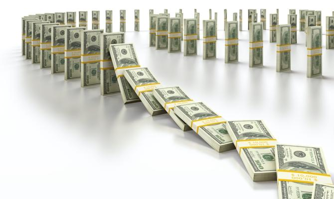 Крупный бизнес оплатил на20% больше налогов, чем вминувшем году