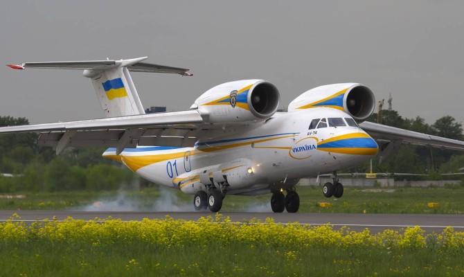Казахстан приобрел украинский Ан-74 за $15 млн