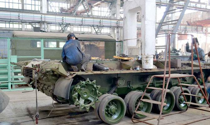 Втечении прошлого года «Укроборонпром» смог нарастить экспорт вооружений сразу начетверть