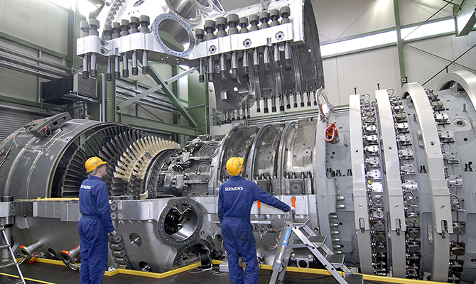 ЕСввел новые санкции противРФ из-за поставок турбин вКрым