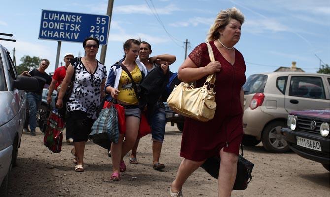 В Российскую Федерацию с минувшего года прибыло неменее 400 тыс. беженцев с государства Украины