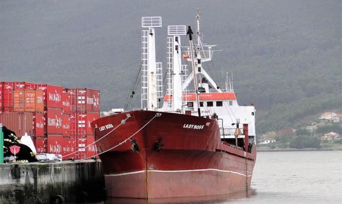 В Испании задержан сухогруз с украинцами и 18 тоннами гашиша на борту