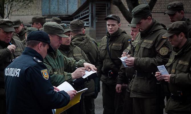 В государственной гвардии Украины создали спецроты для алкоголиков