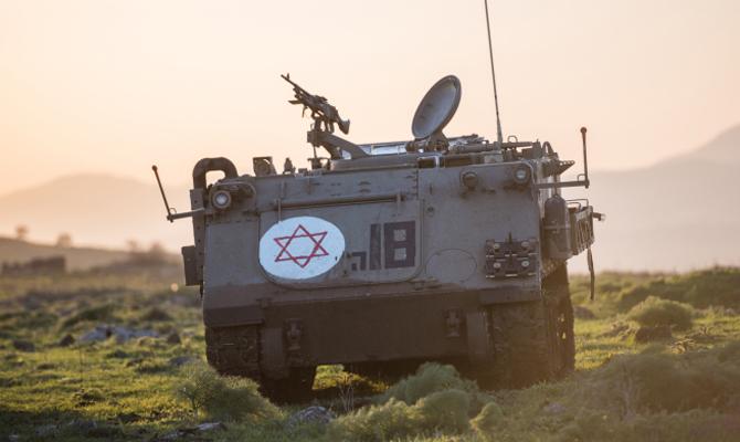ВИзраиле начались масштабные военные учения