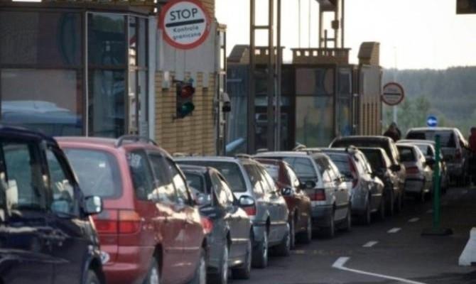 ГФС сообщила онезаконных 63,9 тыс авто наиностранных номерах