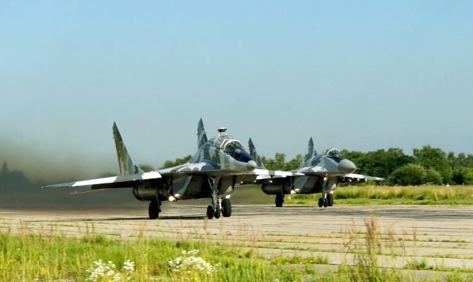 Военно-воздушные силы Украины привели войсковые части вбоевую готовность