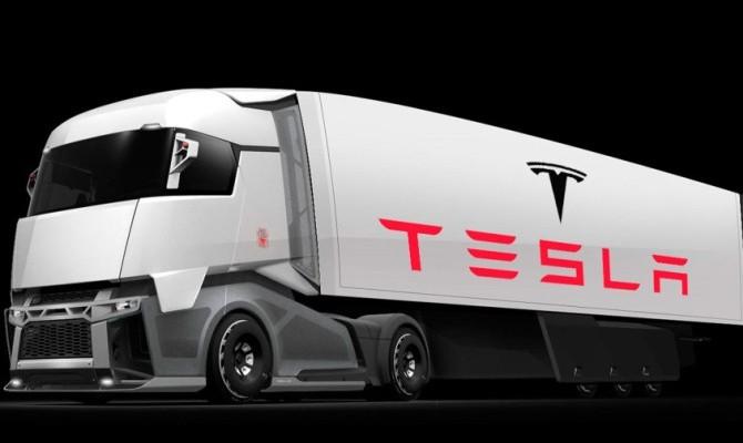 Маск назвал дату презентации беспилотного грузовика Tesla