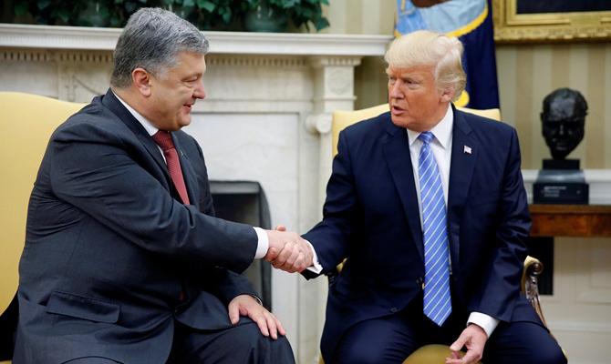 Осенью  Порошенко иТрамп обсудят вопрос размещения миротворцев ООН наДонбассе