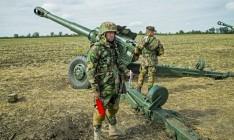 Молдова начала совместные артиллерийские учения с Румынией