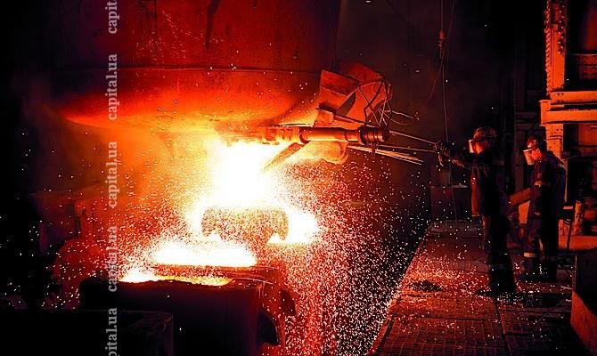 Производство стали вУкраинском государстве вконце лета возросло на0,5%