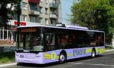 Кременчуг получит новые троллейбусы «Богдан»