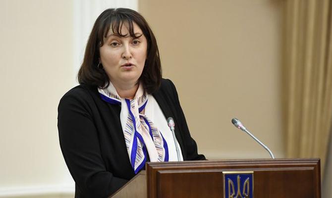Засентябрь руководитель НАПК получила 100 000 грн наоздоровление