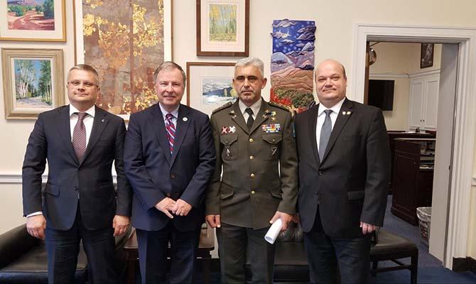 Посол Украины Чалый обсудил с американскими конгрессменами финансовую поддержку ВСУ со стороны США