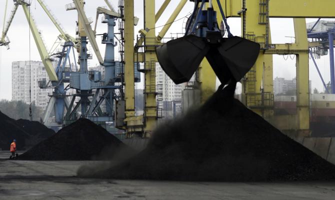 Второе судно с американским углем прибыло в Украину