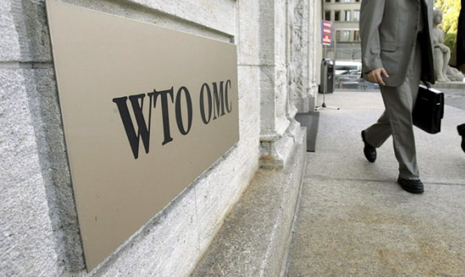 Украина подала вВТО третий иск против РФ
