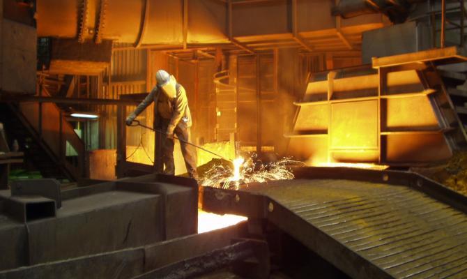 Производство стали в Украине упало до минимума за 20 лет