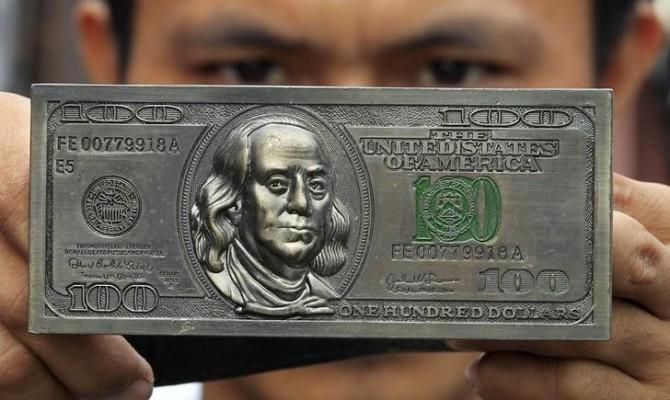 НБУ установил официальный курс науровне 26,42 гривны задоллар