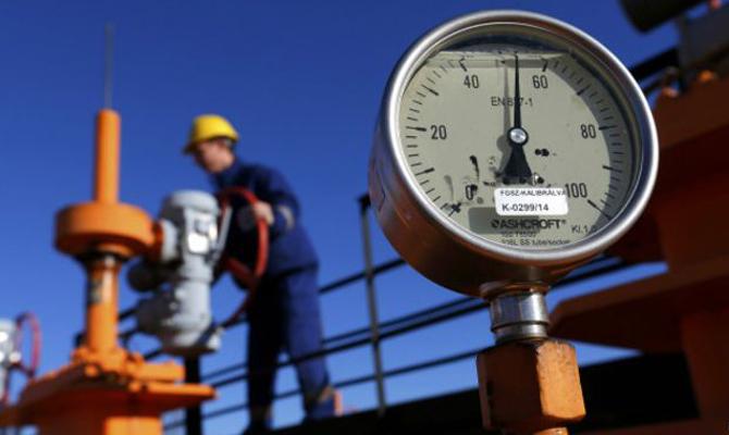 Украина завосемь месяцев импортировала газ на2 млрд долларов