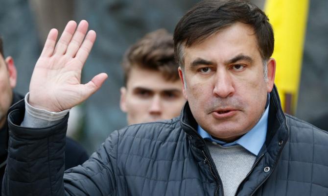 Саакашвили дал последний срок Порошенко: Мынеможем стоять под Радой вечно