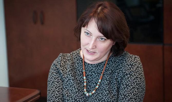 В октябре глава НАПК Корчак получила 40,6 тыс. гривен надбавки за интенсивность труда