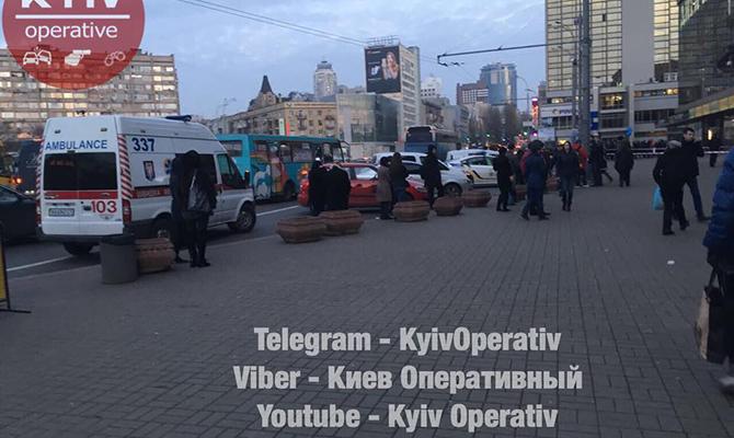 ВКиеве заминировали станцию метро «Лыбедская»