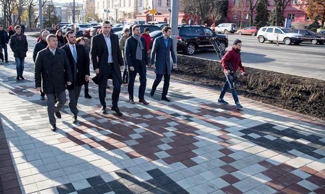 Капремонт улицы Владимирской в Киеве завершится в 2018 году, - Кличко