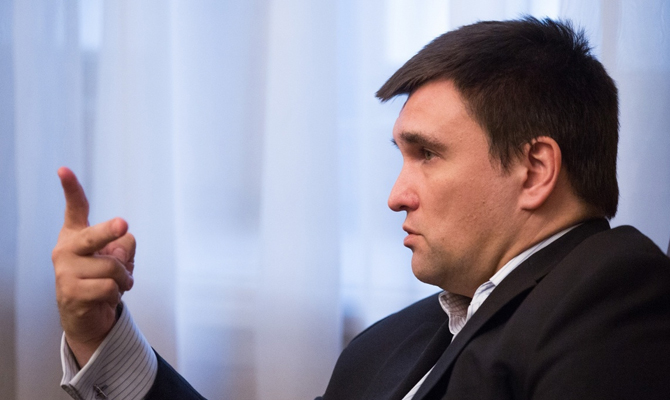 Климкин в ноябре получил больше 100 тыс. гривен зарплаты