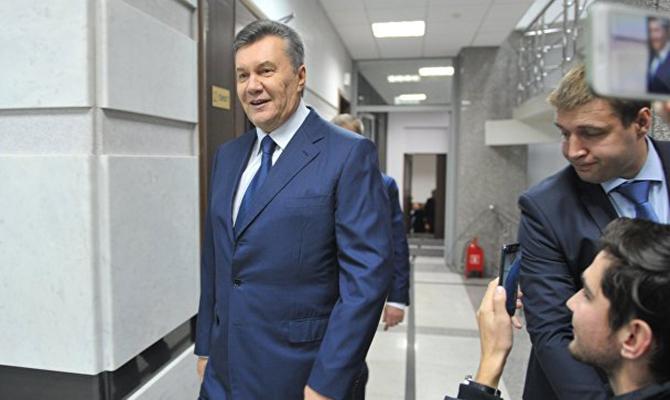 Дело Януковича: Суд объявил перерыв до6декабря