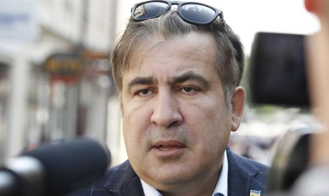 Саакашвили неявился навече собственных приверженцев узданияВР вКиеве