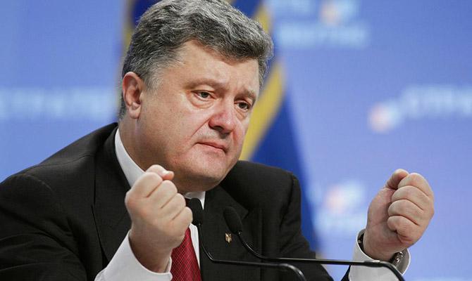 Порошенко назвал главное достижение Украины в 2017 году