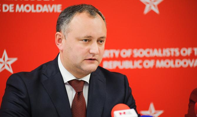 Додон отказался запретить вМолдавии русские каналы 04января 2018 12:30