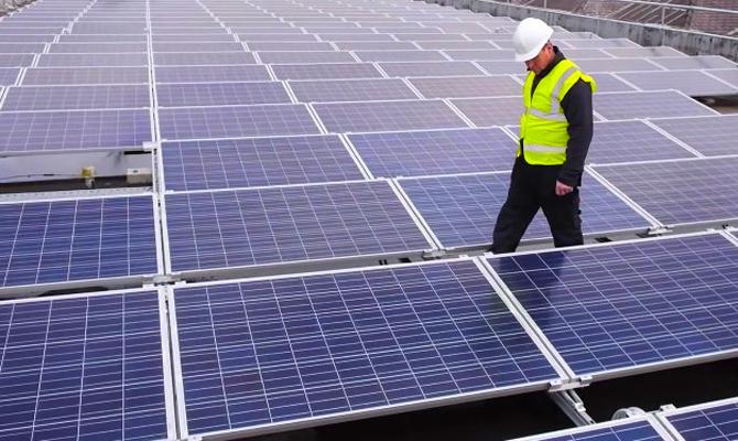 В Чернобыле начнет работать первая солнечная электростанция