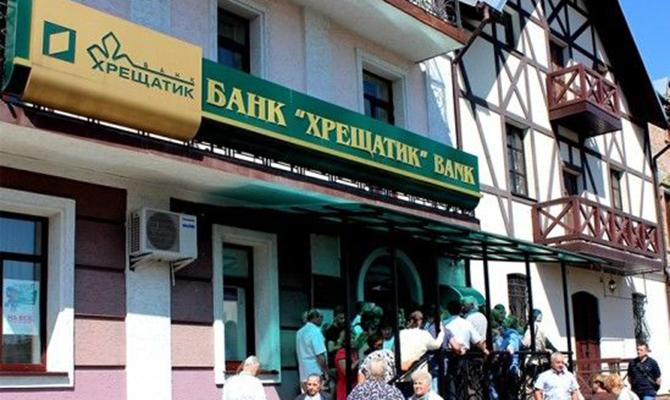 Действия руководства банка «Хрещатик» привели к 2,5 млрд грн убытка
