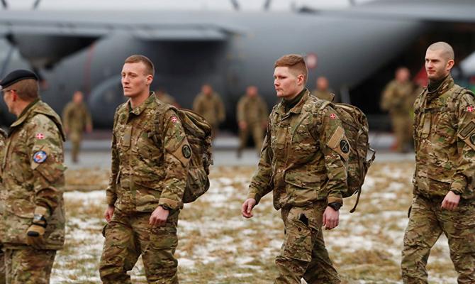 Войска НАТО развернули вЭстонии собственный «Зимний лагерь»