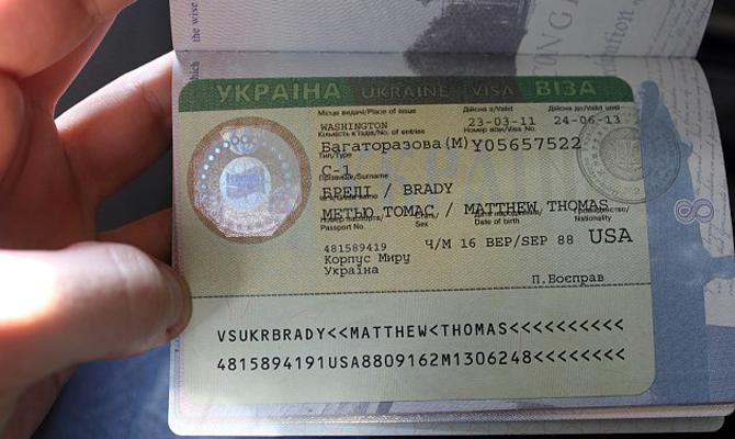 Украина введет для всех стран электронную визу стоимостью 65 долларов