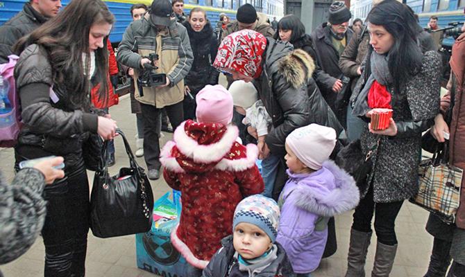 В 2017 году переселенцы получили 1,6 млрд грн, - Фонд соцстраха