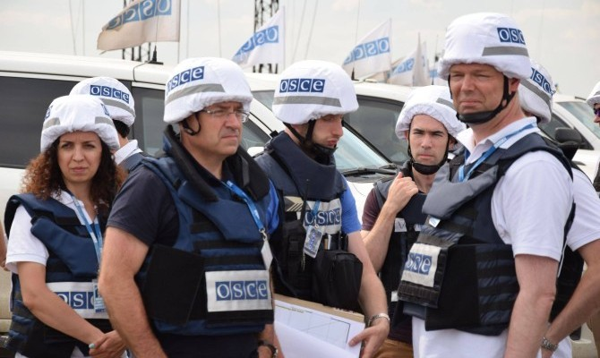 СММ ОБСЕ зафиксировала применение Градов на Донбассе