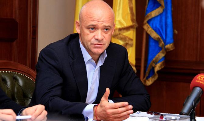 НАБУ объявило о подозрении мэру Одессы Труханову