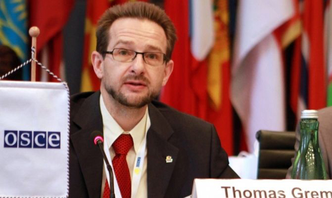 Генеральный секретарь ОБСЕ побеседовал сВолкером обэскалации конфликта наДонбассе