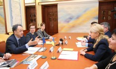 Светличная и Мингарелли договорились о строительстве онкоцентра в Харькове