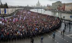 В России проходят митинги в память Бориса Немцова