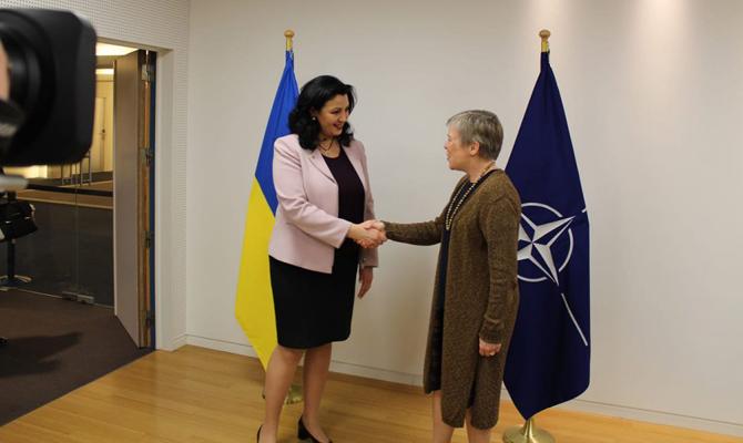 НАТО официально признал евроатлантические устремления Украины- Климпуш-Цинцадзе