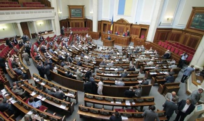 Повестка дня ВР: Блок вопросов интеллектуальной собственности и назначение внеочередных местных выборов