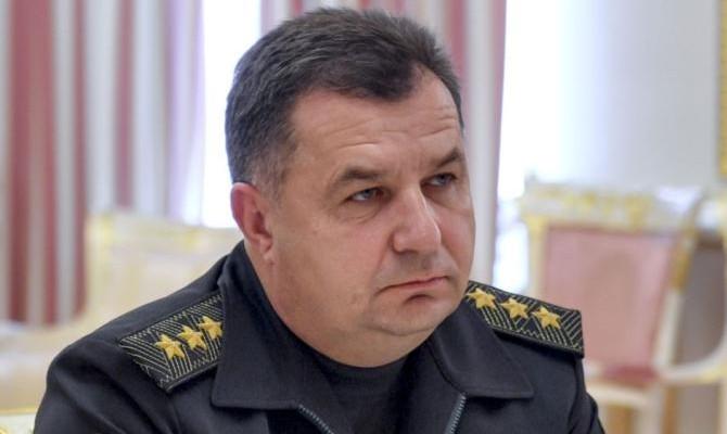 Полторак: Россия увеличила свое военное присутствие вблизи границ с Украиной