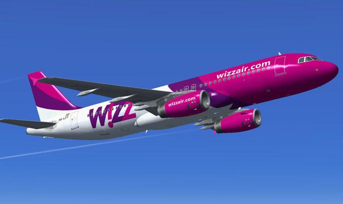 Wizz Air откроет 70 новых маршрутов